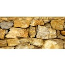 Gele stenen, muur