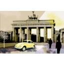 Berliner Tor, breed. Gele tint.